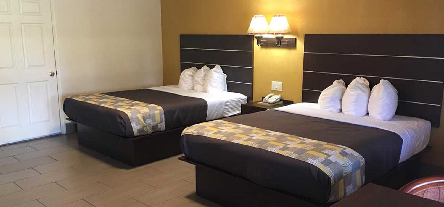 Inviting rooms and comfortable beds